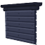 Large Corrugated Steel Door